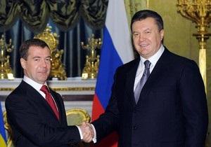 Янукович и Медведев договорились по Черноморскому флоту