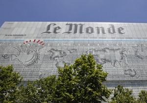 Российский бизнесмен включился в борьбу за выставленную на продажу газету Le Monde
