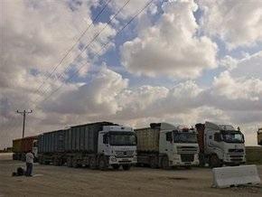 Израиль держит открытой границу Газы для доставки гуманитарной помощи