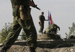 Россия вывела войска из грузинского села Переви
