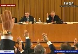 Оппозиция обратилась в ГПУ по поводу заседания Рады на Банковой