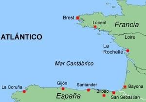 Торговое судно с украино-российским экипажем затонуло в Бискайском заливе