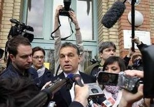 Парламентские выборы в Венгрии завершились убедительной победой правоцентристов