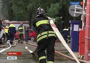 В редакции Интерфакса в Москве произошел пожар