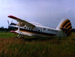 В Кировоградской области упал самолет Ан-2