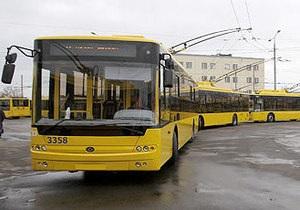 В Киеве задержан пьяный водитель троллейбуса