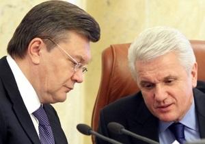 В АП отрицают, что Янукович виделся с Литвином в Межигорье