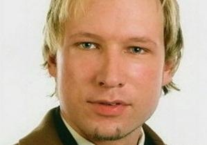 Два психиатра не ранее 1 ноября определят вменяемость Брейвика