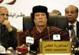 Франция призвала сподвижников Каддафи бежать от него  пока не поздно