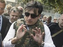Саакашвили стал носить бронежилет