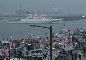К островам Сенкаку отправилась флотилия из Тайваня