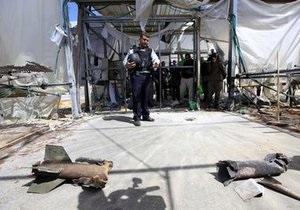Палестинские боевики обстреляли Израиль во время визита главы дипломатии Евросоюза