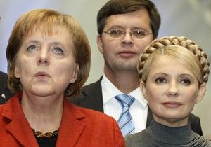 Немецкая оппозиция требует от Меркель привезти Тимошенко в Берлин