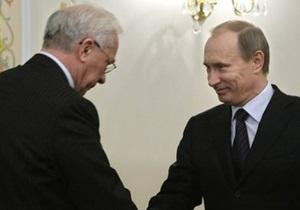 Азаров и Путин встретятся в Москве.  Киев намерен получить  скидку  на российский газ в $4 млрд