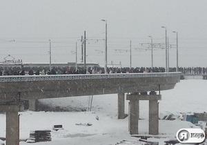 Фотогалерея: Снегом завалило. Последствия сильного снегопада в Киеве 11 декабря