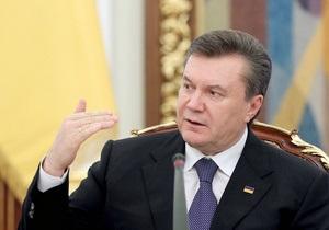 Янукович поручил ГНСУ упростить отчетность предпринимателей