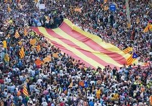 Более миллиона каталонцев приняли участие в митинге за независимость региона