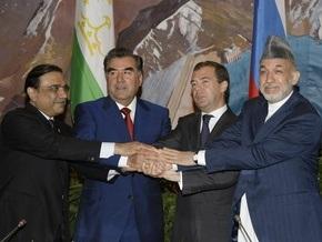 Лидеры России, Таджикистана, Афганистана и Пакистана призвали активнее бороться с наркоугрозой