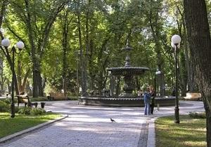 В Мариинском парке убрали все киоски
