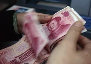 Китайский юань вырос до максимума за 17 лет
