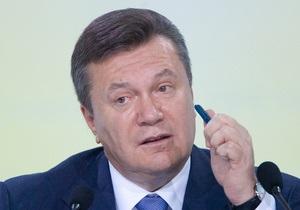 Янукович прокомментировал инцидент с сыном Ландика