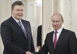НГ: Янукович ставит на Путина