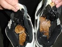 Украинец пытался ввезти в Россию 2 кг гашиша в кроссовках