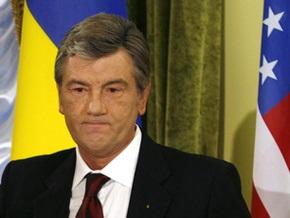 Ющенко поздравил Обаму с победой