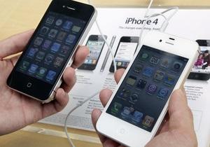 Белый iPhone 4 оказался толще черного