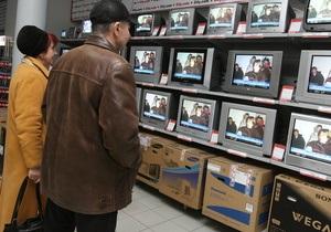 Украина опередила Европу по темпам продаж бытовой техники и электроники