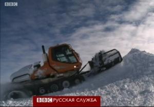 Британские ученые устремились вглубь Антарктиды