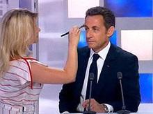 Саркози отчитал сотрудника телеканала за плохие манеры