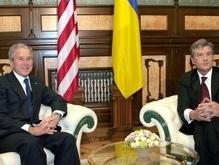 Сегодня Ющенко встретится с Бушем