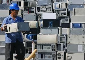 В ООН бьют тревогу: 70% мирового электронного мусора попадает в Китай