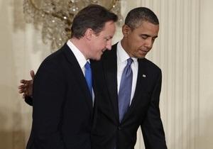 Кэмерон назвал Великобританию  младшим партнером  США в борьбе с нацистской Германией