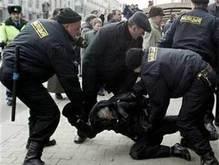 Во время демонстрации в Минске задержаны граждане Украины и Польши