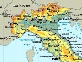 На севере Италии произошло землетрясение