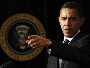 Рейтинг Обамы снизился на 5%