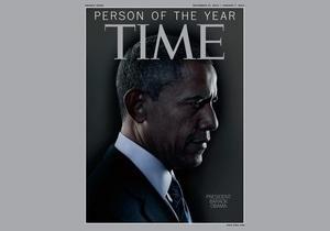 Time назвал человеком года Барака Обаму
