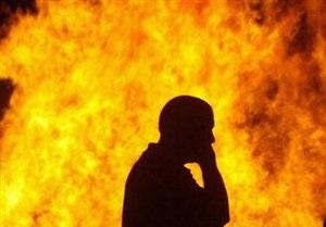 В Киеве из-за неосторожного обращения с огнем пострадали два человека