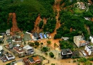 Число жертв оползней в Бразилии возросло до 423