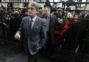 НГ: Виктора Ющенко будут судить за газовые контракты
