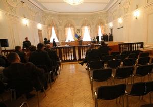 ЕЭСУ - Тимошенко - По делу ЕЭСУ суд объявил перерыв до 12 апреля