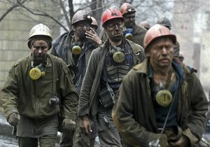 Убытки угольных предприятий Донецкой области достигли миллиарда гривен - губернатор