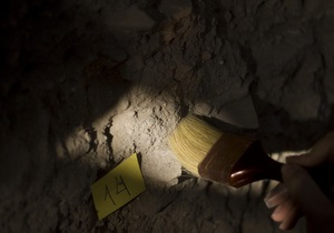 В Хмельницкой области обнаружили древнее захоронение