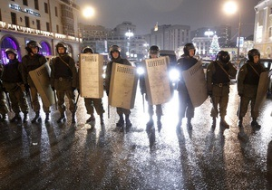 Российская полиция во время акций протеста в РФ задержала гражданина Украины