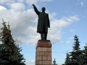 В Рязани уничтожили памятник Ленину