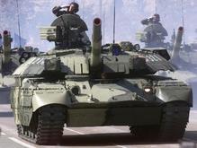 Танки парализовали движение в Киеве