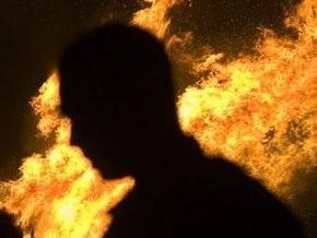 В Ровненской области горела школа