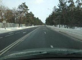 Дорогу на Конча-Заспу показательно очистили на следующий день после снегопада